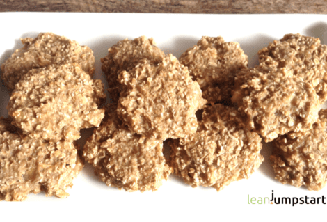 Clean Eating Cookies with Just 2 Ingredients