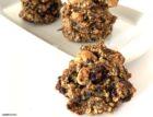 crunchy banana oatmeal cookies