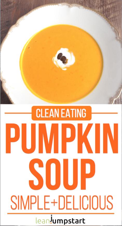 red kuri squash soup