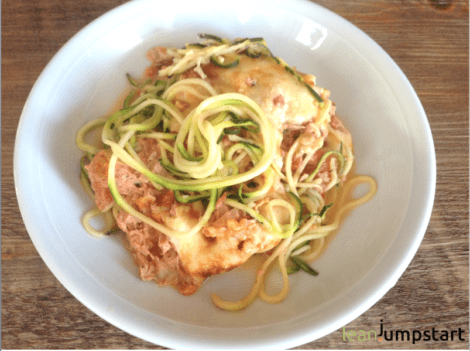 Tuna Casserole with Zoodles