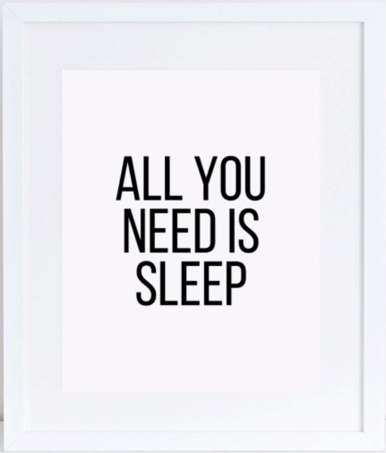 modern-bedroom-decor: all you need is sleep