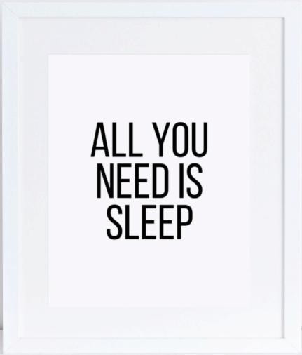 modern-bedroom-decor: all you need is sleep