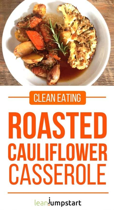Baked Cauliflower: An Easy Clean Eating Casserole Recipe