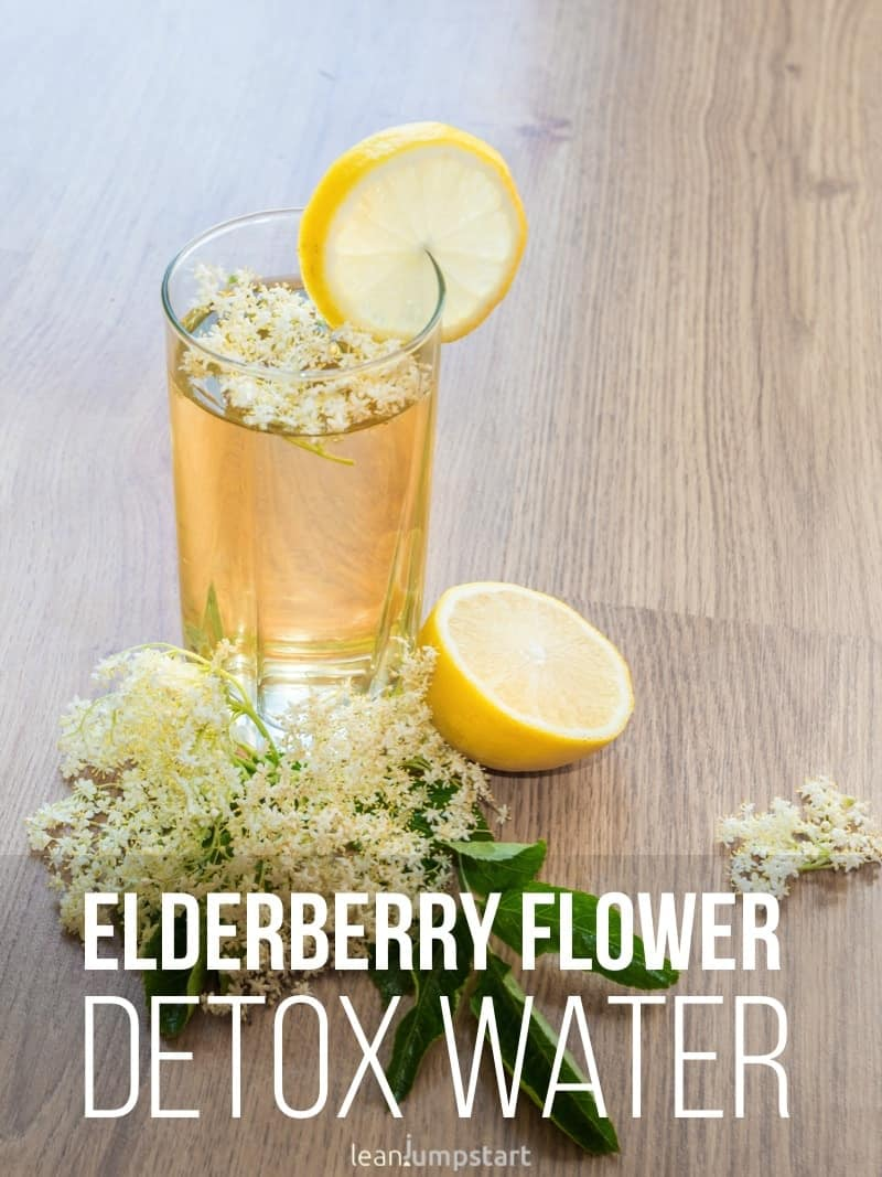 elderberry flower lemonade