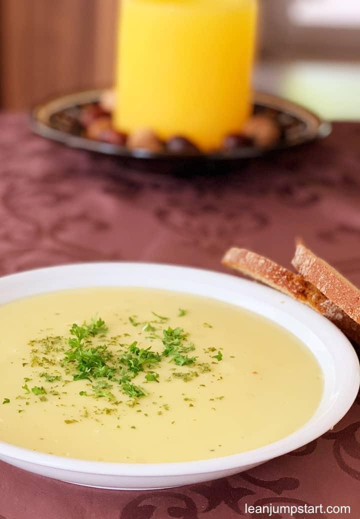 potato parsnip soup