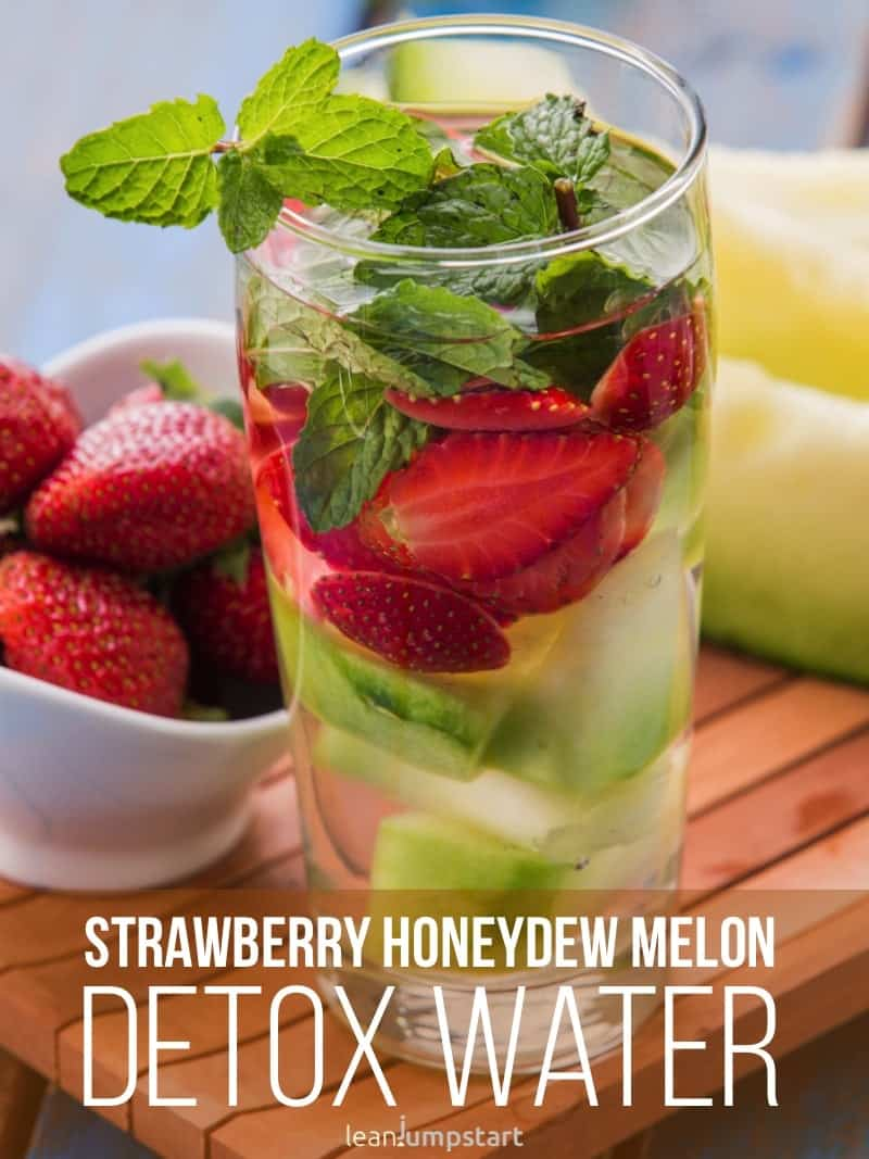 strawberry honeydew melon water