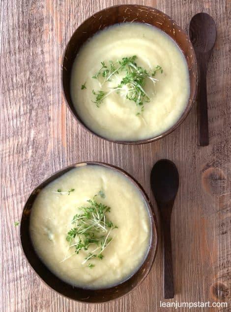 vegan celeriac soup