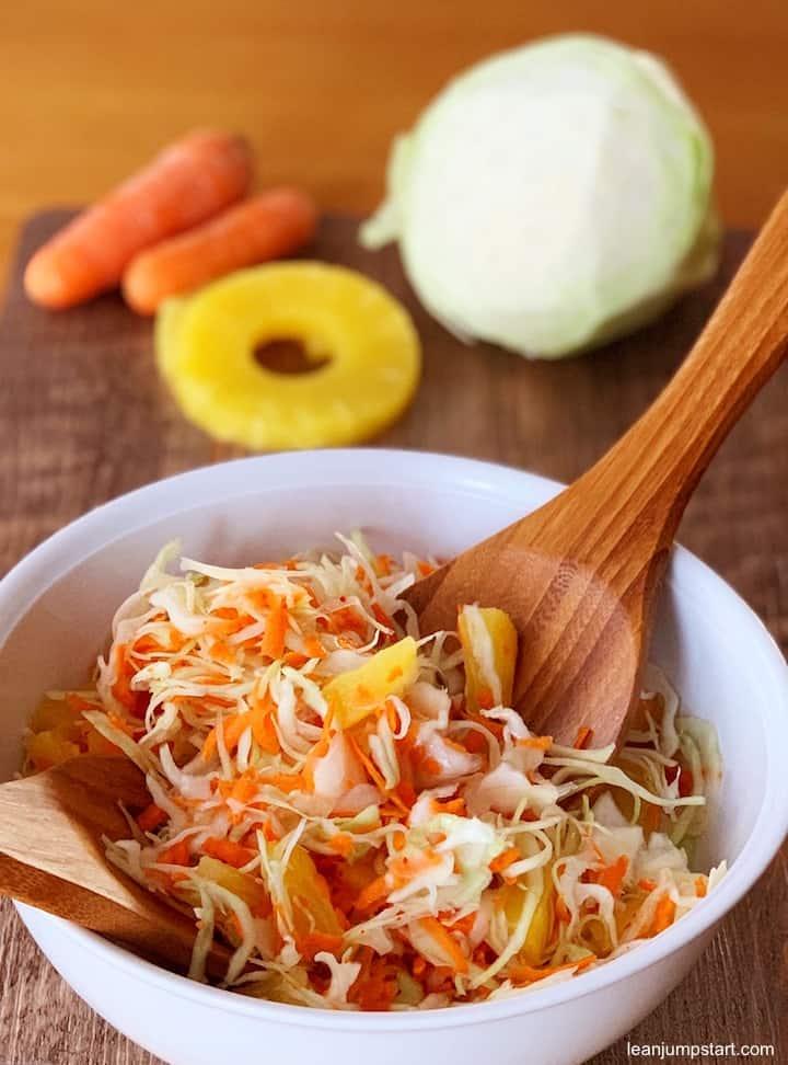 healthy cabbage salad