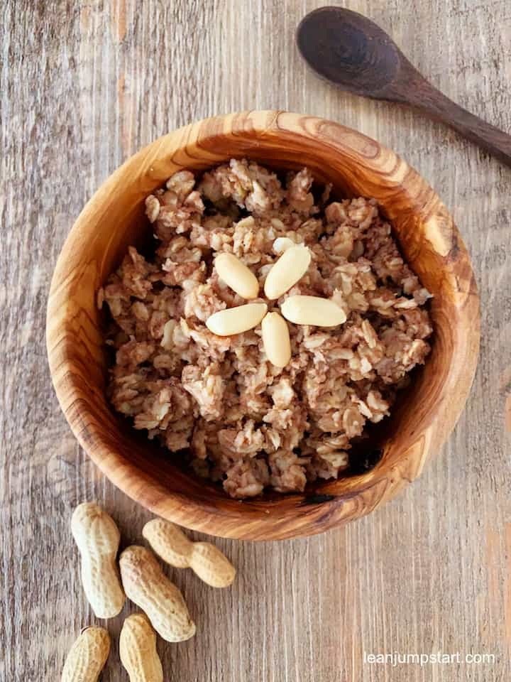 peanut butter oatmeal recipe