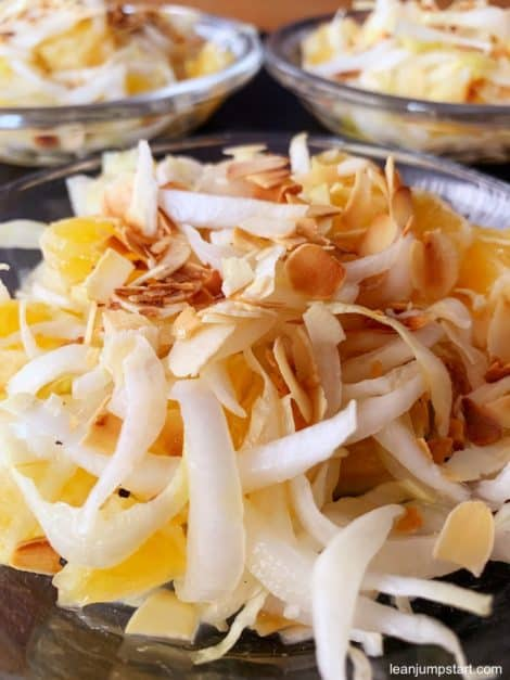BELGIAN ENDIVE SALAD WITH ORANGES