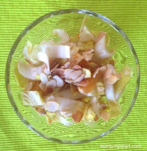 Endive salad recipe: An easy clean eating salad for weight loss