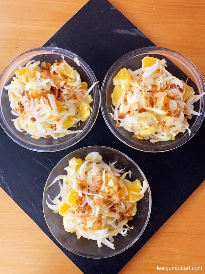 endive salad with oranges