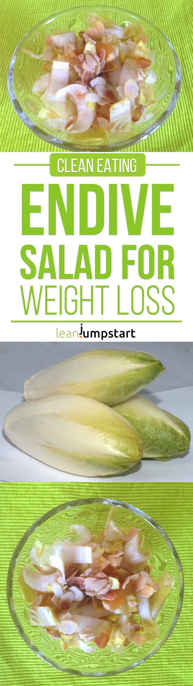 endive salad recipe for weight loss: quick and easy