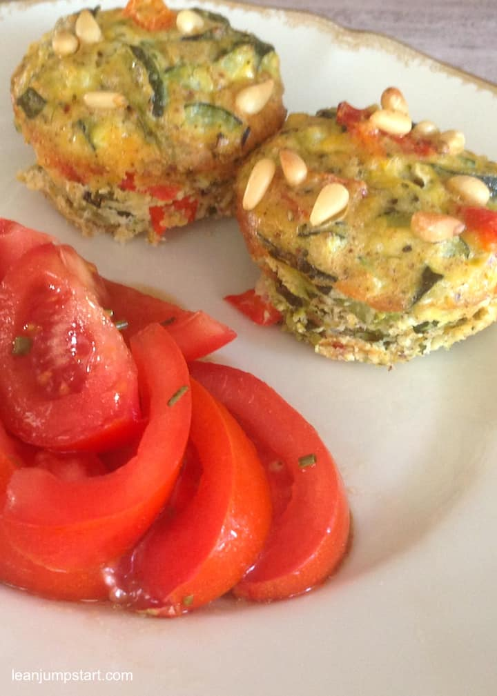 vegetable egg muffins
