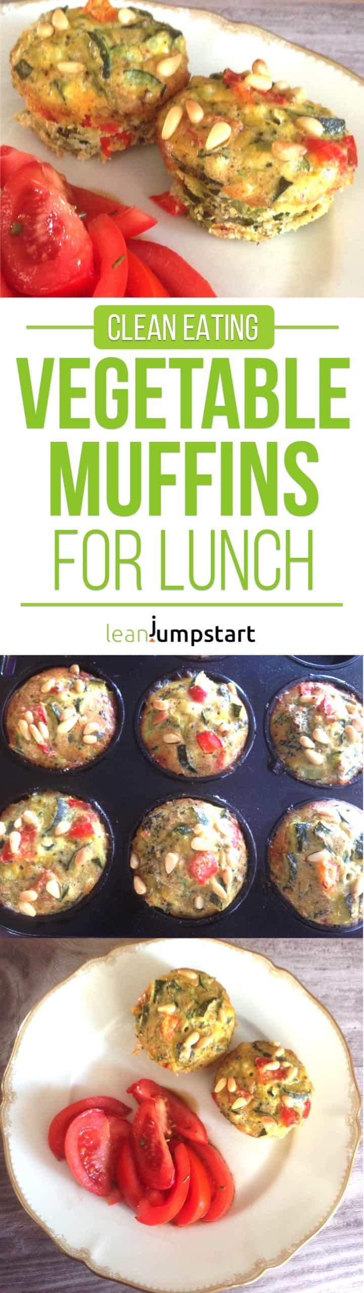 egg muffins recipe: healthy and clean. Click through!
