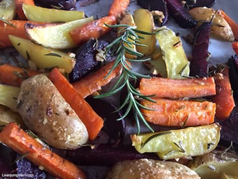 Sheet pan potatoes, carrots and beets: Quick and easy one-pan vegetable dish