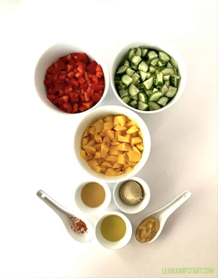 mango salad ingredients