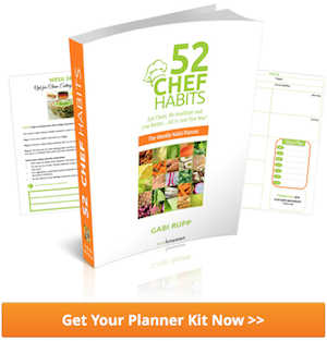 52 chef habits planner kit