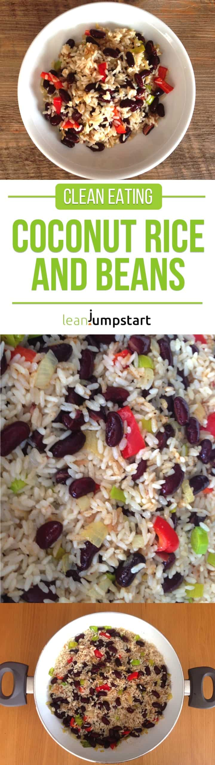 coconut rice and beans for weight management: easy and filling recipe
