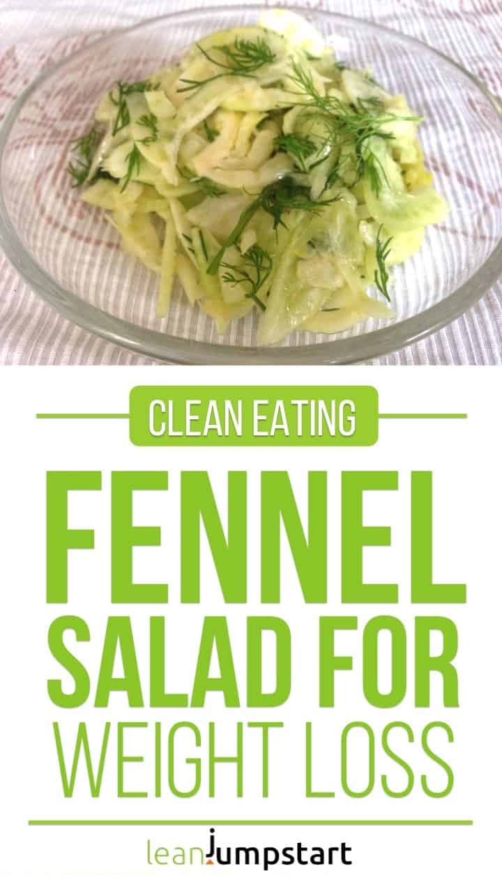 fennel salad recipe: a quick and easy salad that supports weight loss