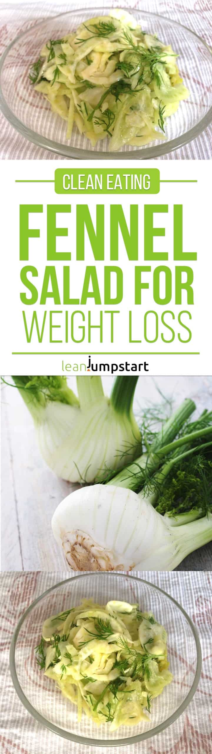 fennel salad: a clean eating salad for weight loss
