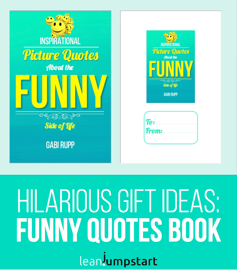 funny quotes gift book