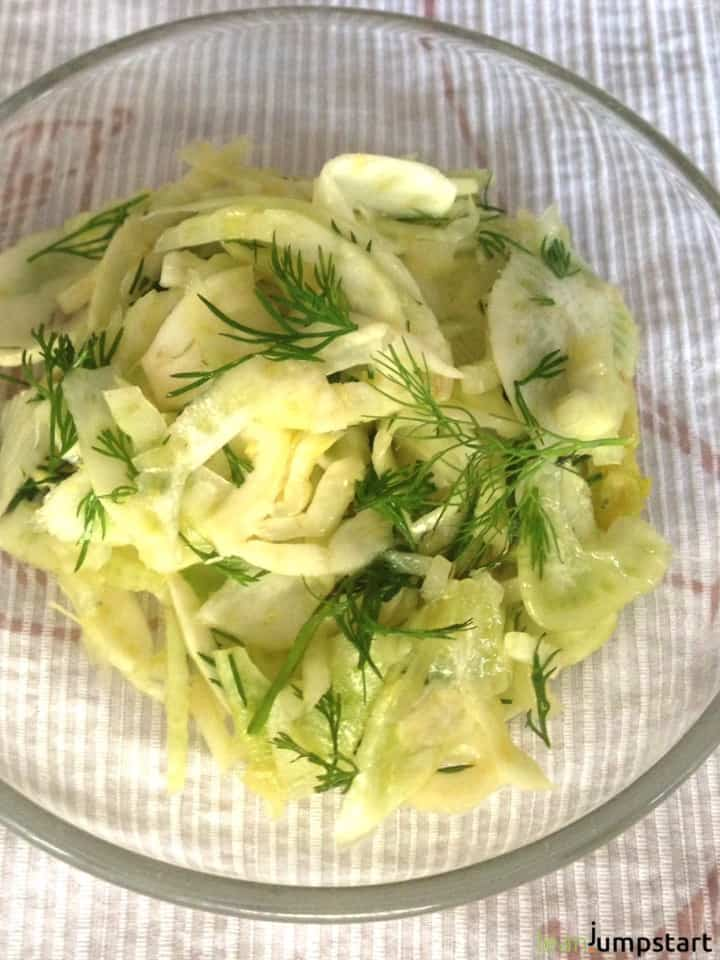 quick fennel salad recipe