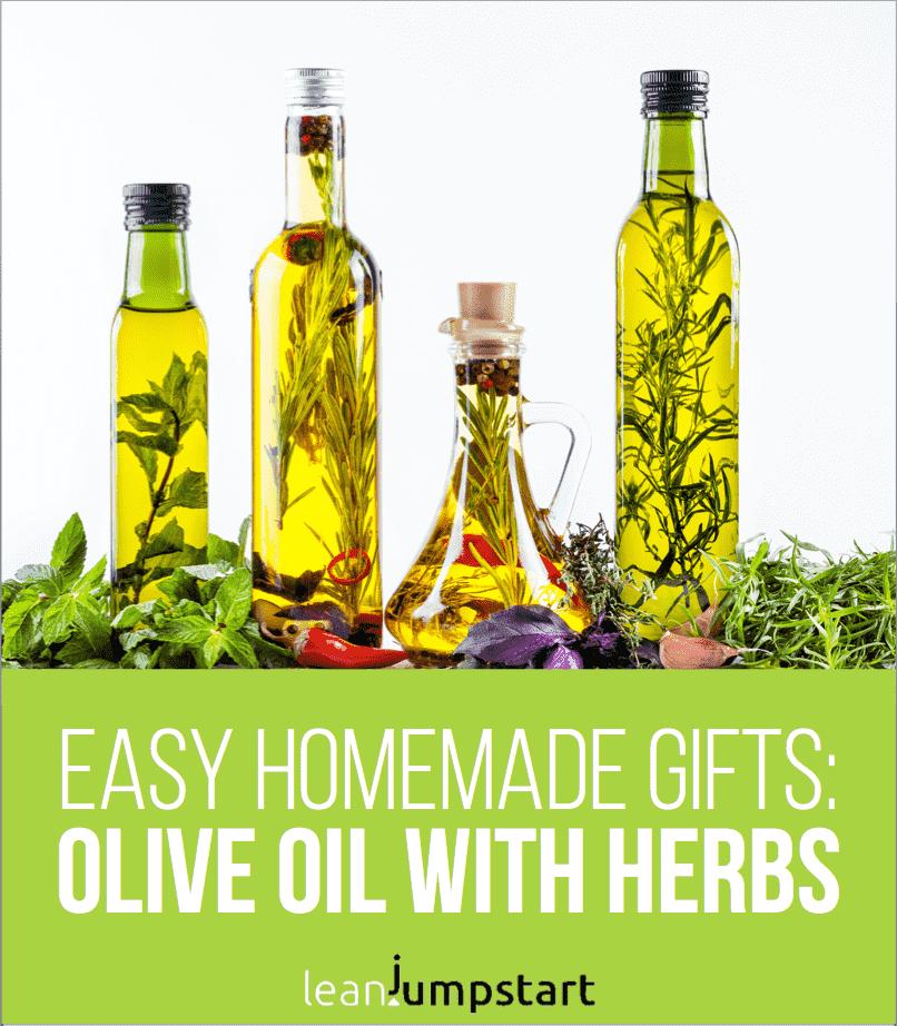 rosemary garlic olive oil gift