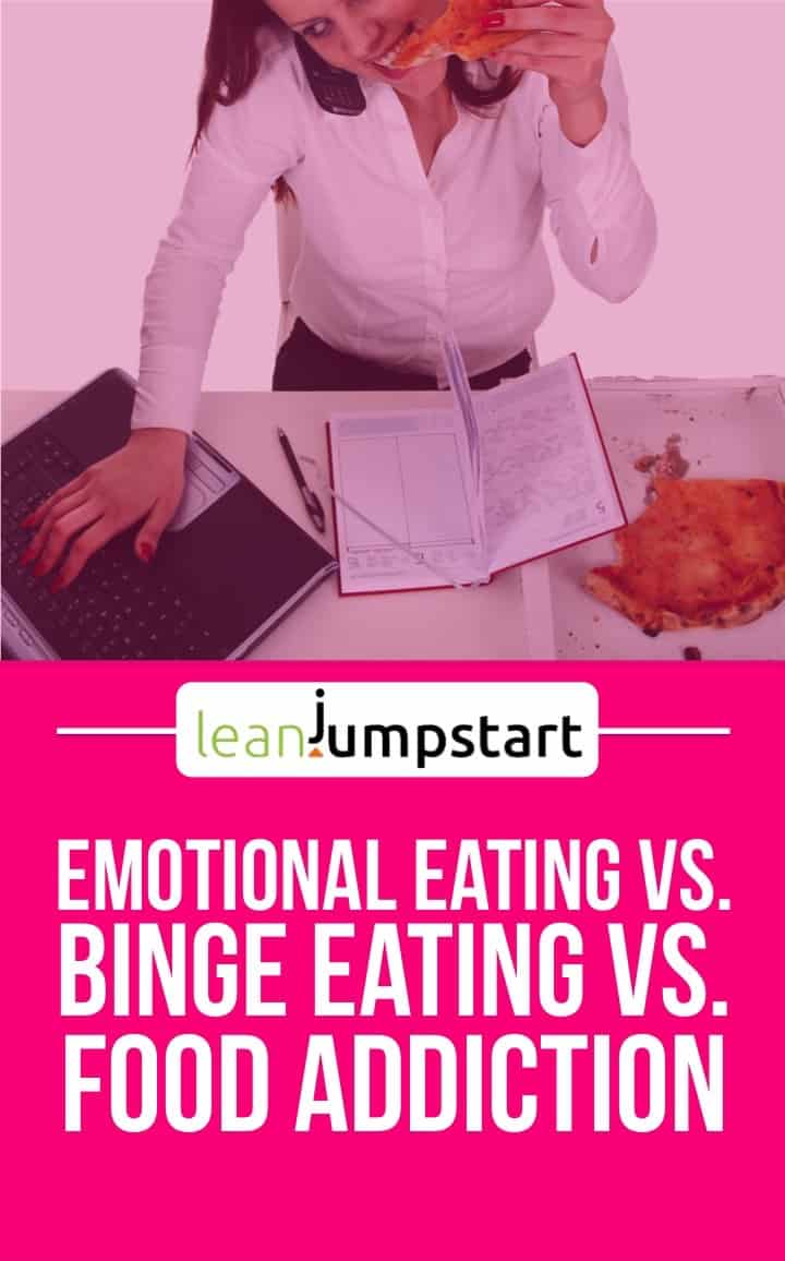 emotional eating vs binge eating