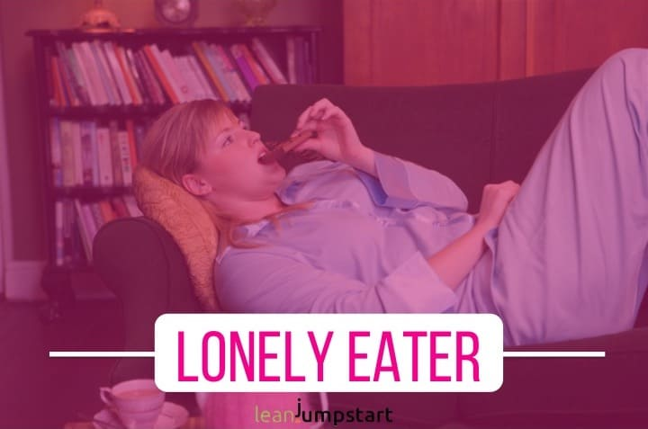 lonely eater