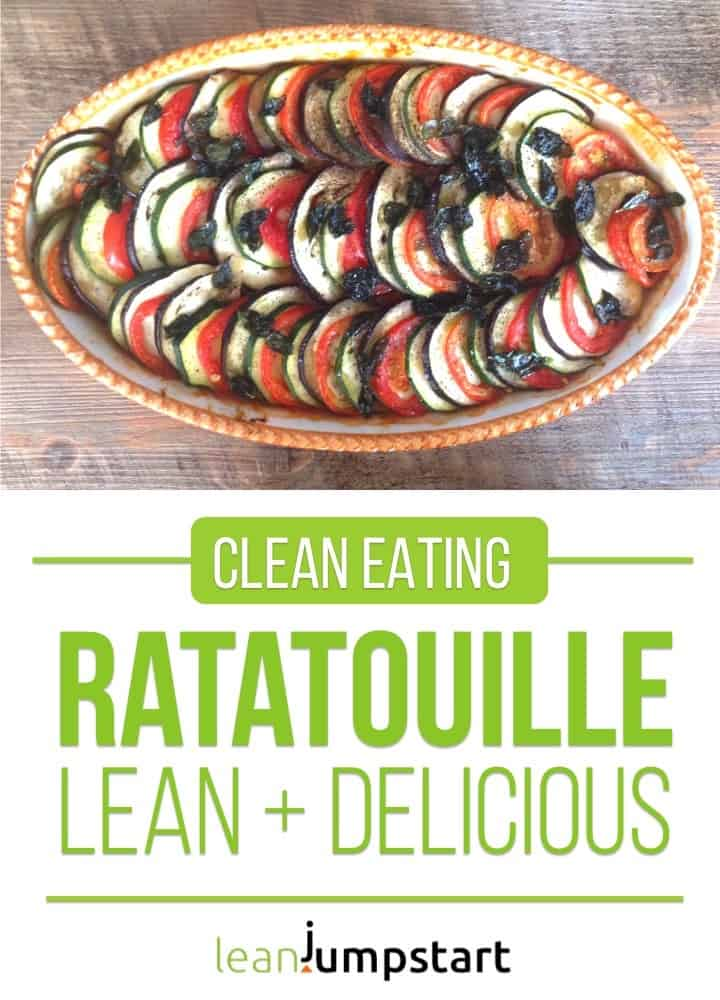 clean eating ratatouille recipe