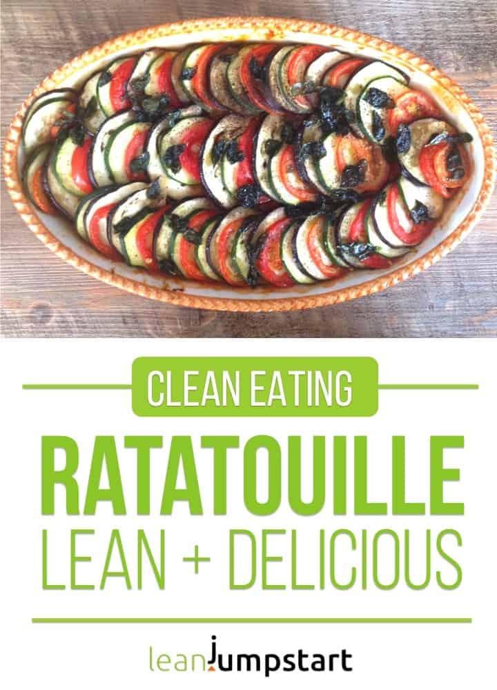 clean eating ratatouille recipe