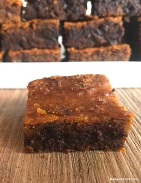 pumpkin chocolate slices