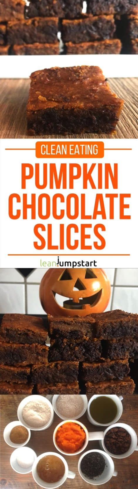 Pumpkin chocolate bars: The easy clean eating treat for weight management