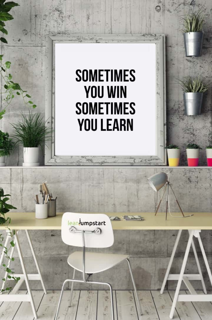 Sometimes you win quote