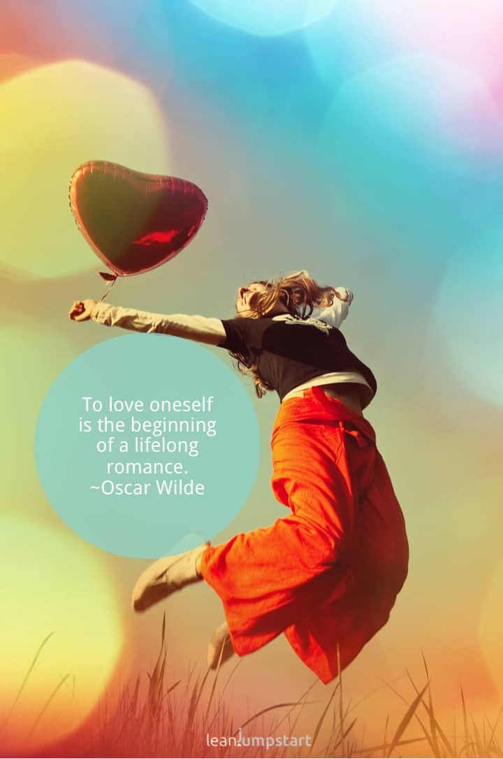 self love quote oscar wilde