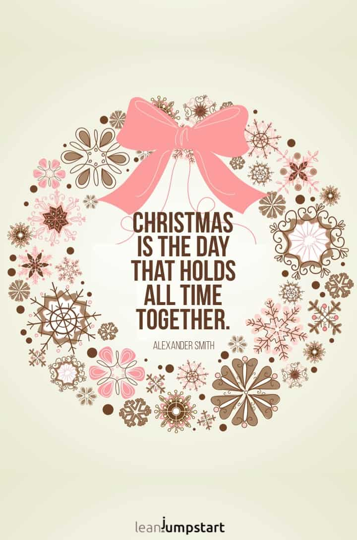 christmas is the day quote