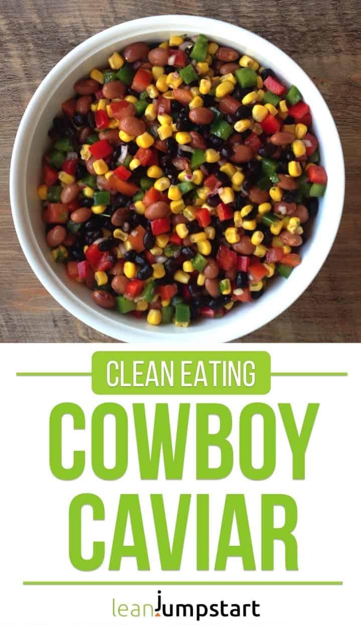 clean eating cowboy caviar