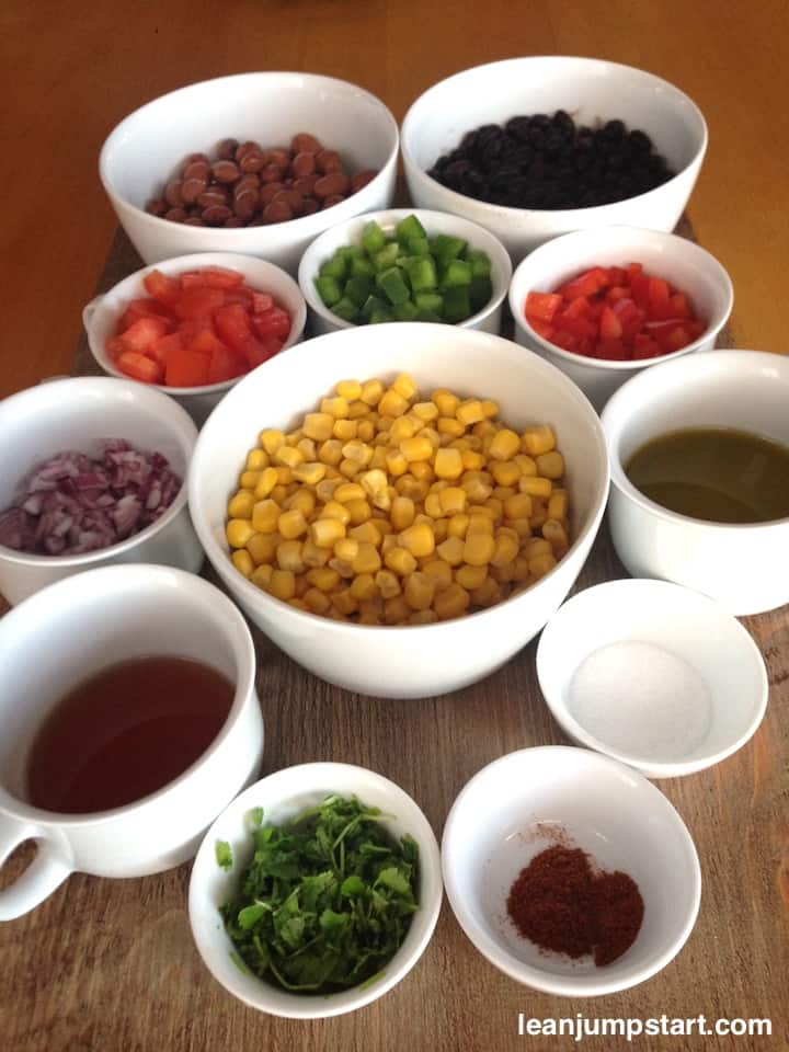 cowboy salad ingredients