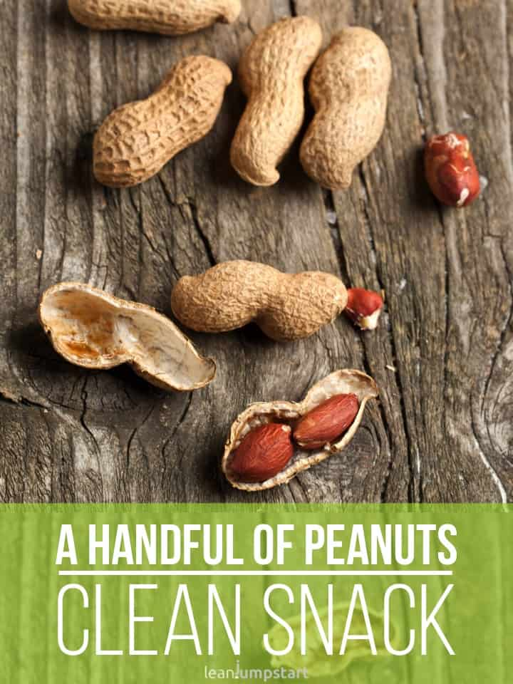 peanuts - clean snack idea