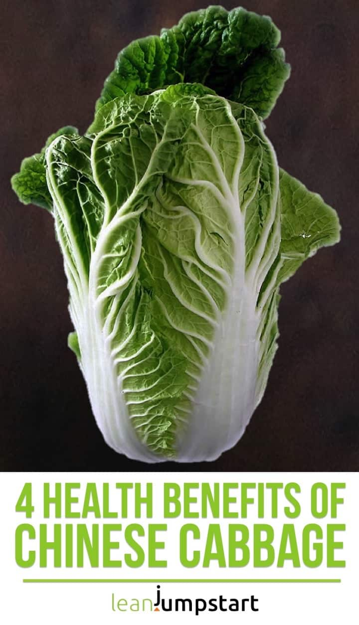 health benefits of Chinese cabbage