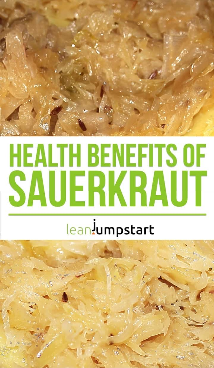 health benefits of sauerkraut