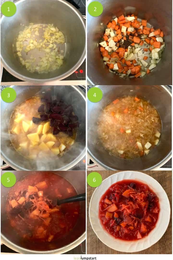 how to make sauerkraut soup