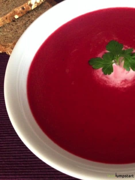 red beet soup