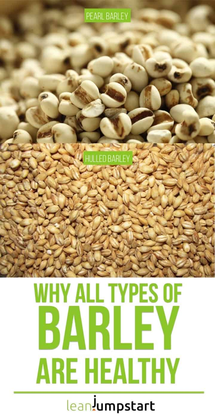types of barley