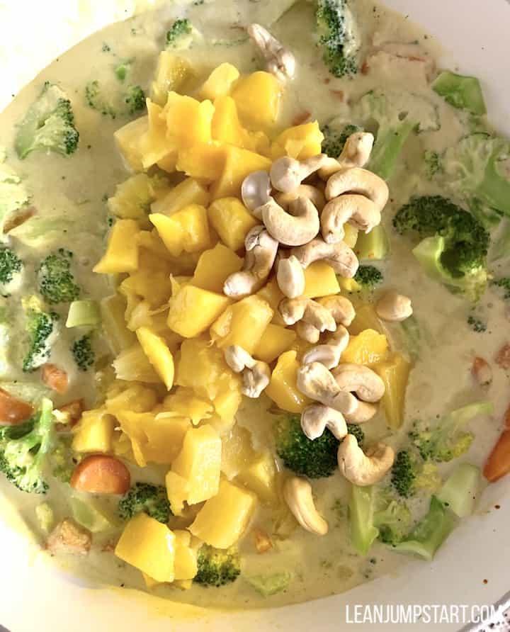 mango cashew addition