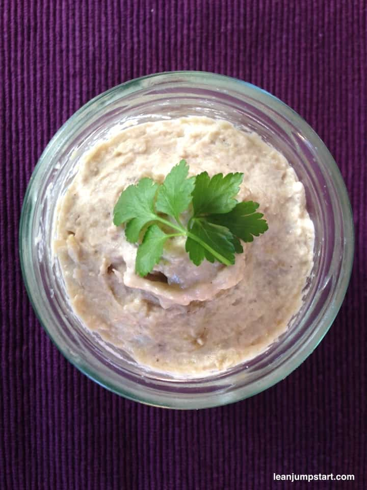 flavorful baba ganoush