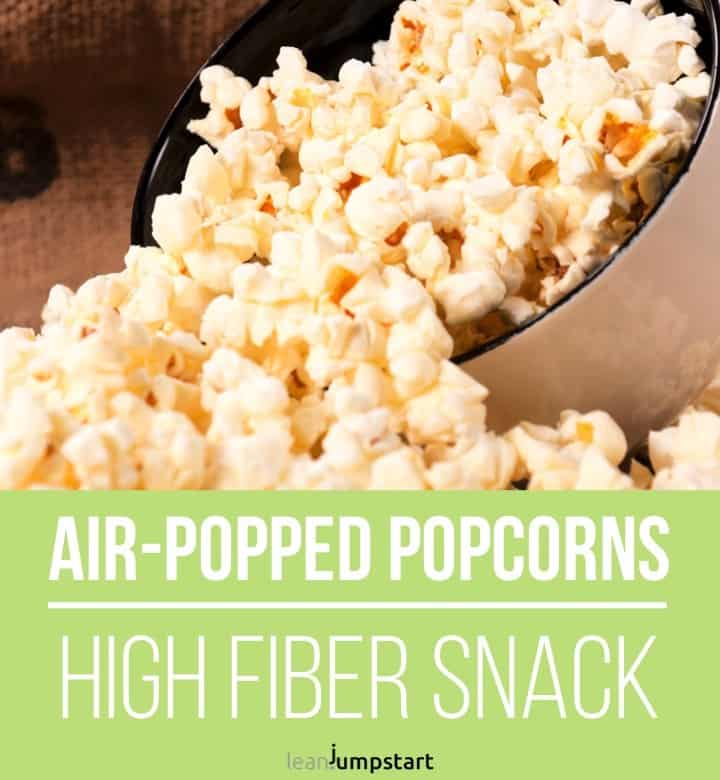 air popped popcorns