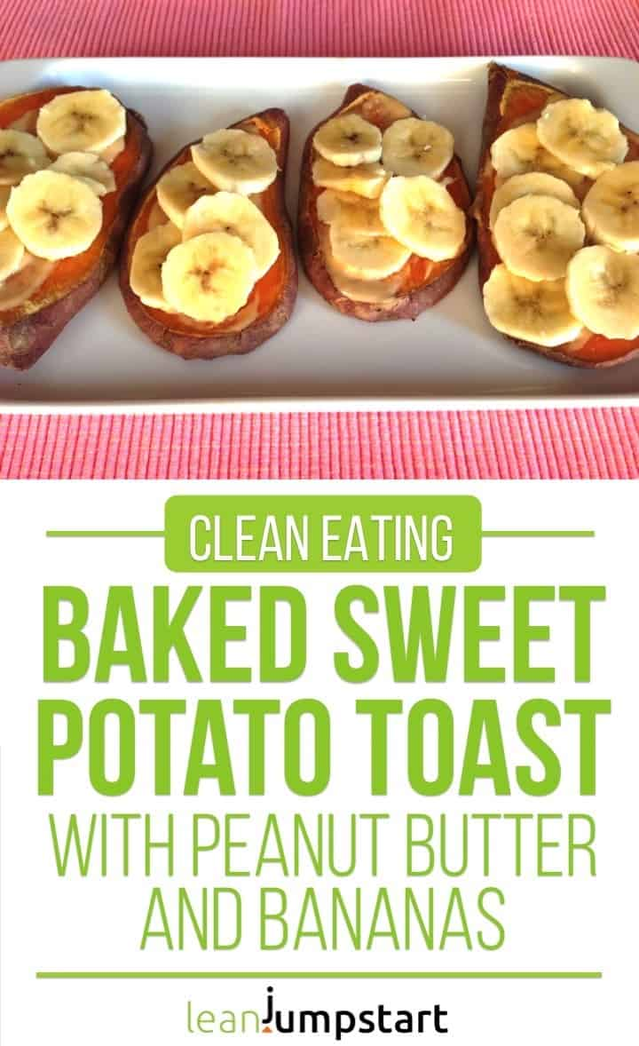 baked sweet potato toast