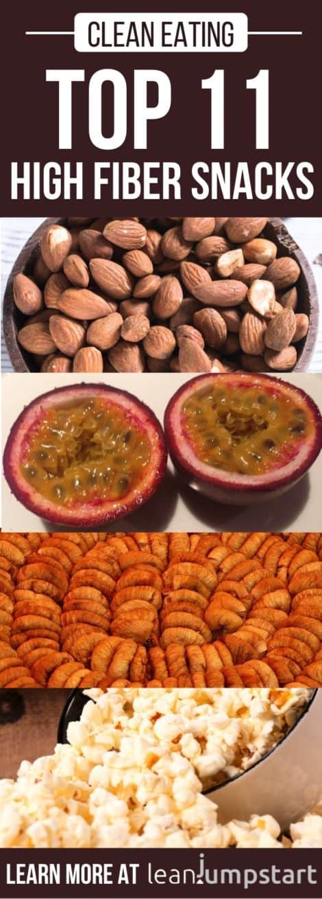 high fiber snacks: Top 11 fiber rich snack ideas